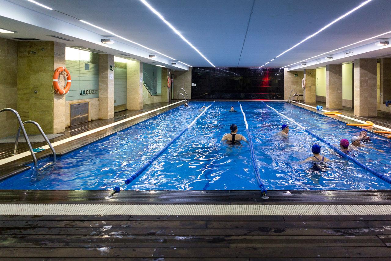 escuela de natación