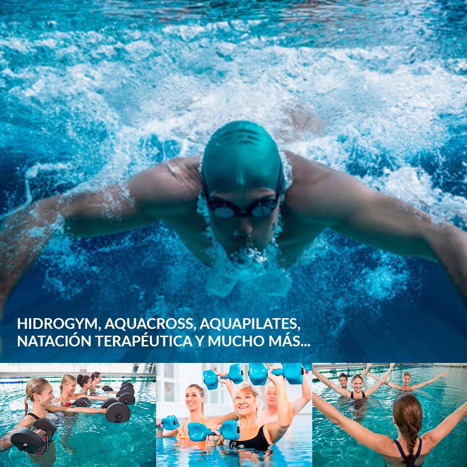 gimnasio con piscina en Córdoba