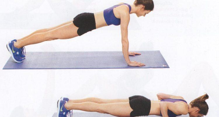 hacer flexiones correctamente