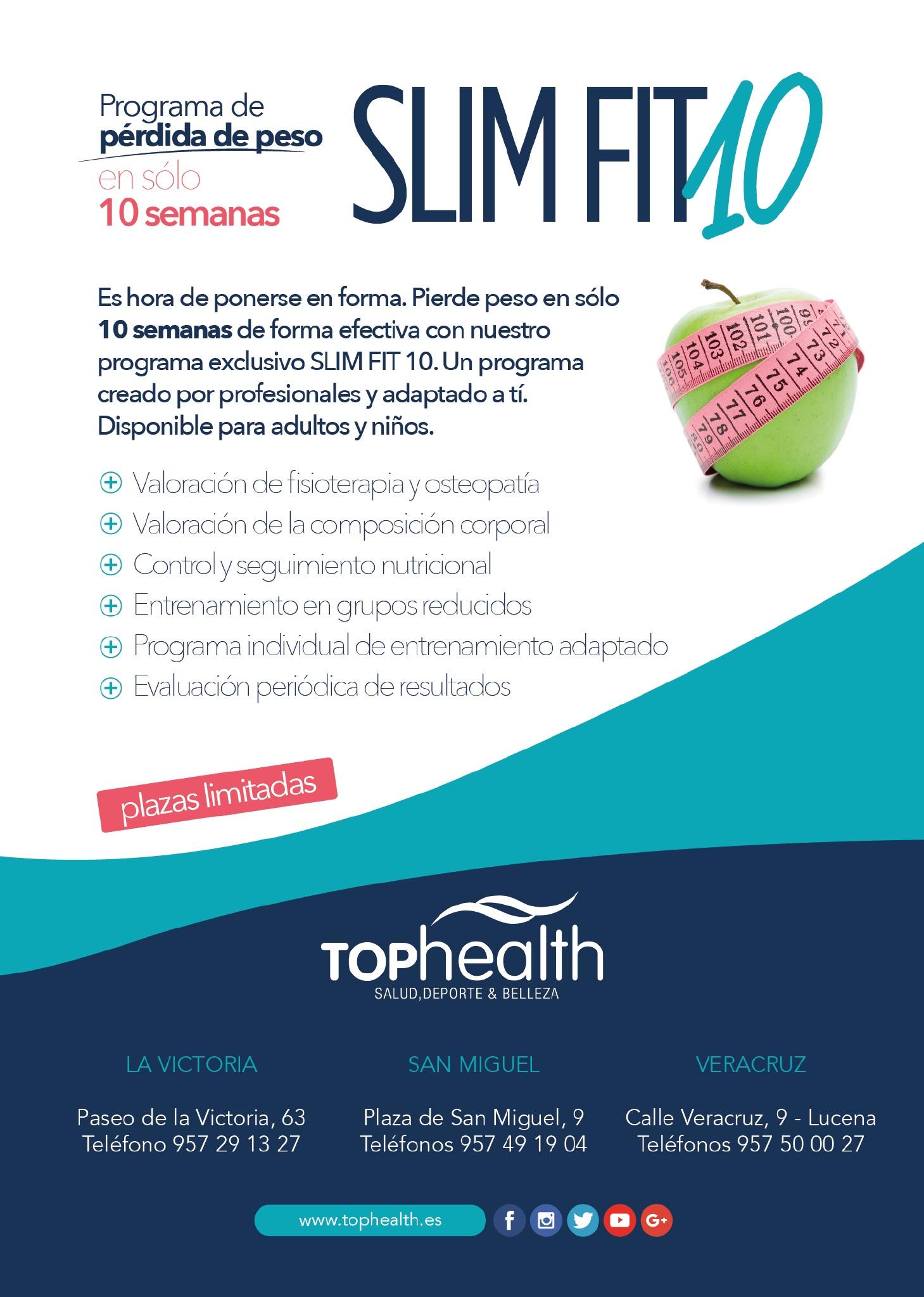 slim fit 10 top health gimnasio en cordoba