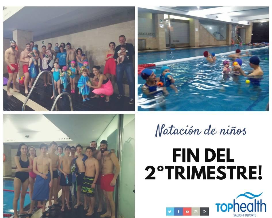 boletín notas natación infantil top health san miguel