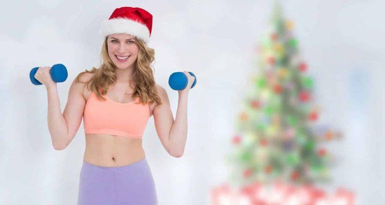 no perder la forma física en navidad