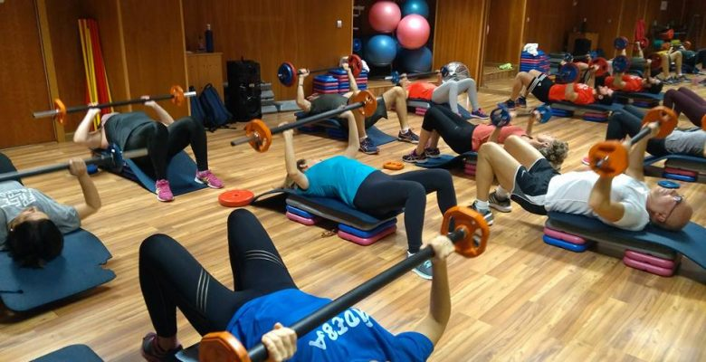 entrenamiento en top health